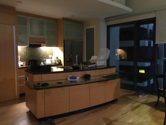 Kitchen area - Picture of E&O Residences Kuala Lumpur, Kuala Lumpur ...