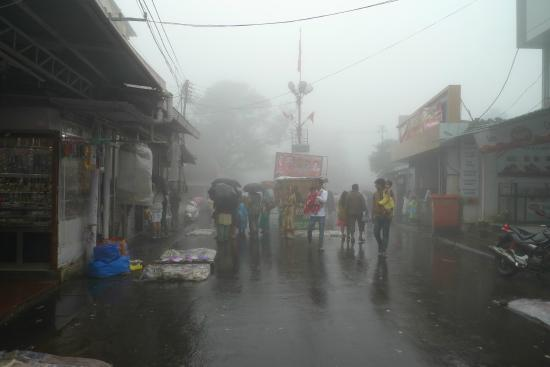 Image result for mahabaleshwar streets in rains