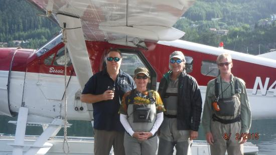Dove Island Lodge: ready for a fly-in for fly fishing