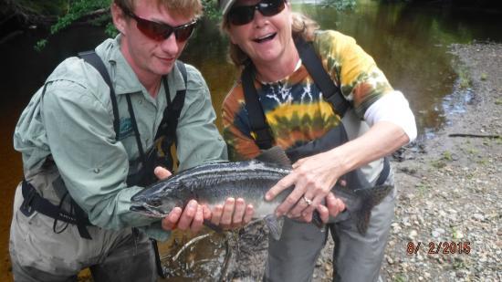 Dove Island Lodge: fly fishing