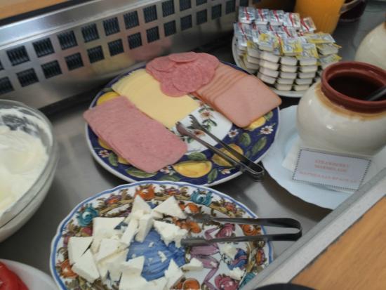 Cape Kanapitsa Hotel & Suites : De verse fijne vleeswaren