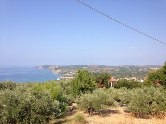 Villa Mare: How the weather changed in one day!!!
