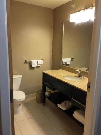 Red Carpet Inn and Suites : New Clean room, new clean washroom .