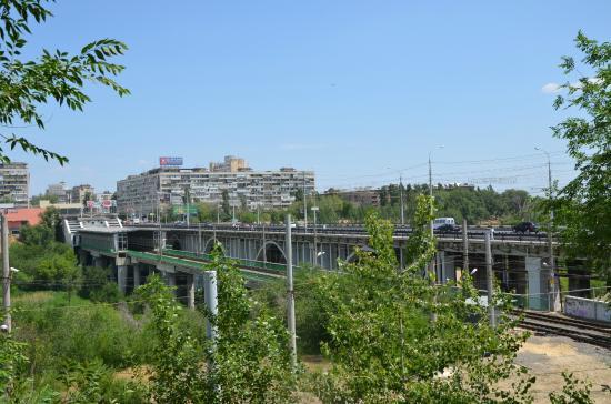 Astrahanskiy Bridge Across Tsaritsa River: астраханский мост
