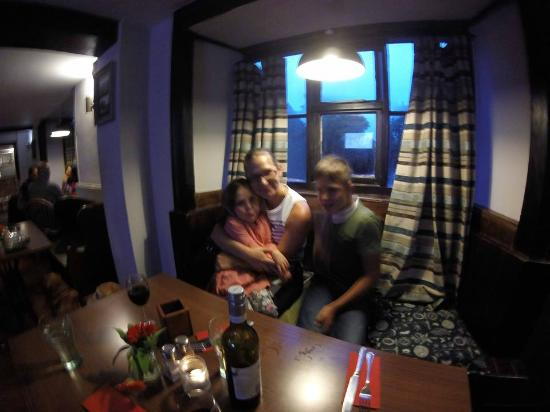 Badby, UK: family pub