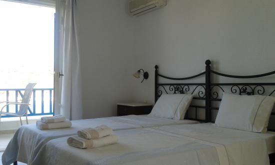 Lioliou Beach Hotel : La stanza