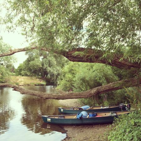 Ross on Wye Canoe Hire - Day Trips: Lunch Spot