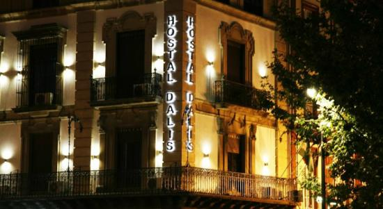 Hostal Dalis: Vistas desde el Hotel