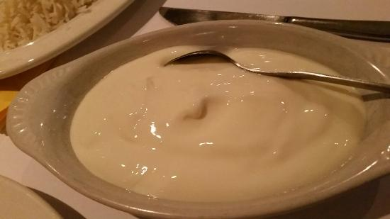 Maharaja Indian Restaurant: Home made yogurt