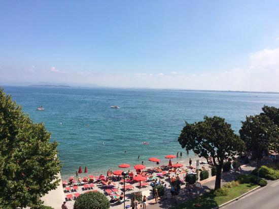 Hotel Riviera : La vista dalla camera n° 344