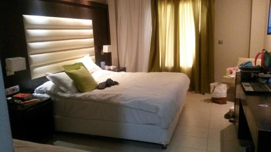 Atlantica Holiday Village Kos: Our  superiour double room with single extra bed