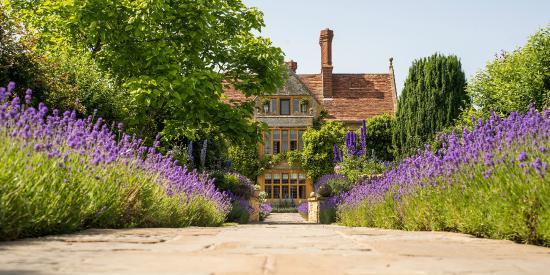 Belmond Le Manoir aux Quat'Saisons: Lavender path