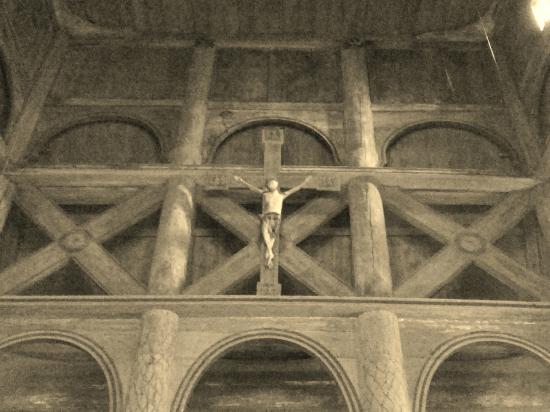 Ringebu Stave Church  / Stabkirche Ringebu Innenansicht