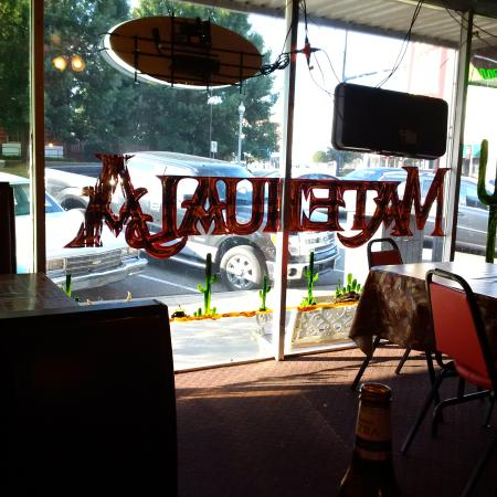 Matehuala Mexican Restaurant: from the inside