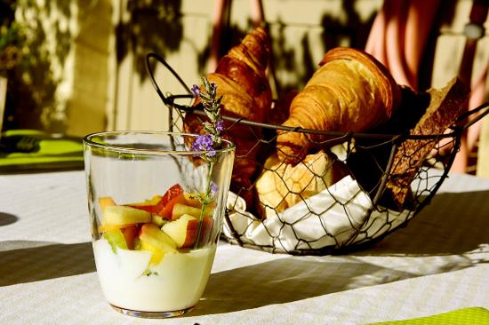 Chez Soi en Luberon : Yummy yogurt