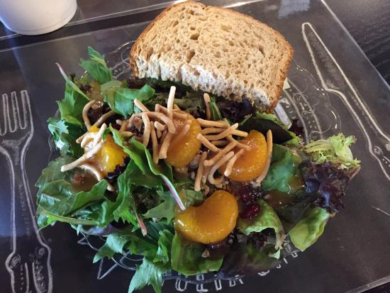 Sweetea's Tea Shop: Fabulous Chicken Salad on Wheatberry Bread
