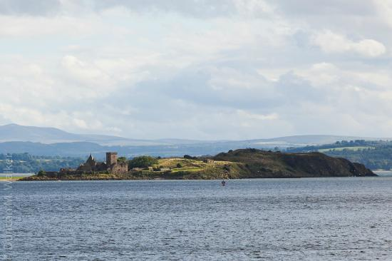 Forth View Hotel: Inchcolm Abbey, Firth of Forth