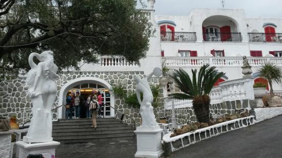 Hotel Galidon Terme & Village : Facciata dell'hotel
