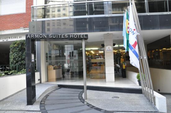 Armon Suites Hotel: Fachada do hotel