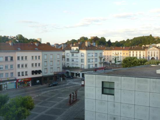 Mercure Epinal Centre : vue de notre chambre