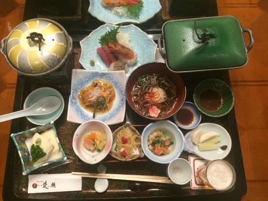 Keien Hananose: 夕食