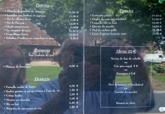 Carte photo de l 39 auberge de la grange aux oies souvigny en sologne tripadvisor - La grange aux oies souvigny ...