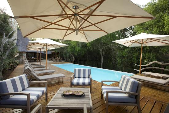 Kapama Private Game Reserve, Νότια Αφρική: Pool Deck
