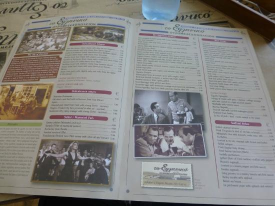 Kitchen Bar Menu Nicosia