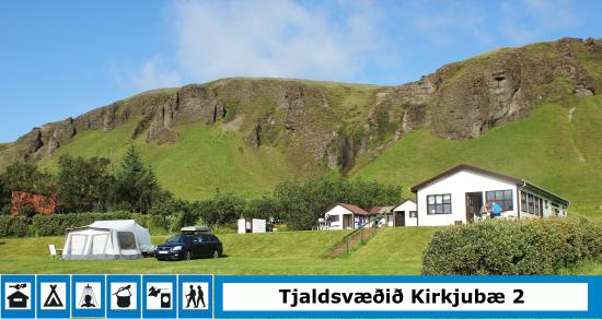 Kirkjubaer II Camping Site and Cottages: Good facility