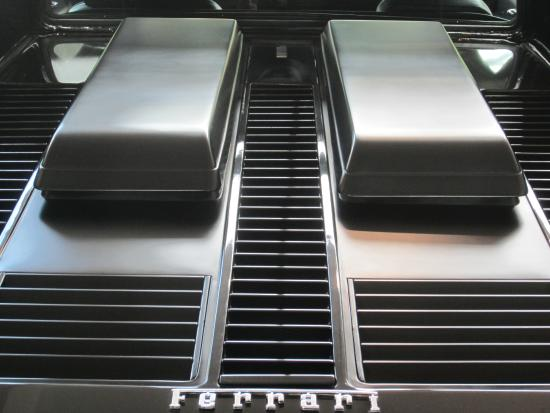 Toy Gallery : The cooling of a Ferrari