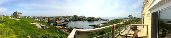 Peggy's Cove Bed & Breakfast: Panoramic View