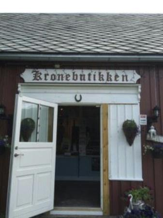 Sorkjosen, Noruega: Kronebutikken