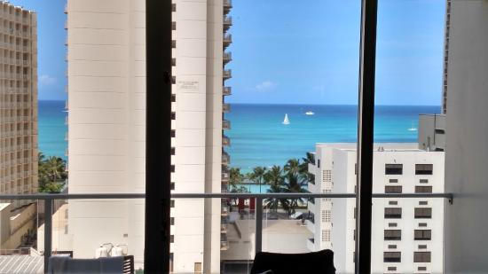 Hyatt Place Waikiki Beach Partial Ocean View Room Morning