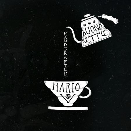 Choco Cafe Restaurant and Coffee Shop: Hario