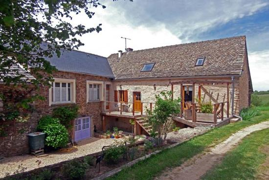 Rieupeyroux, Francia: Main farmhouse