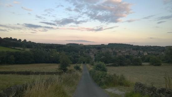 Packhorse Farm Camp Site : View of the nearby scenery