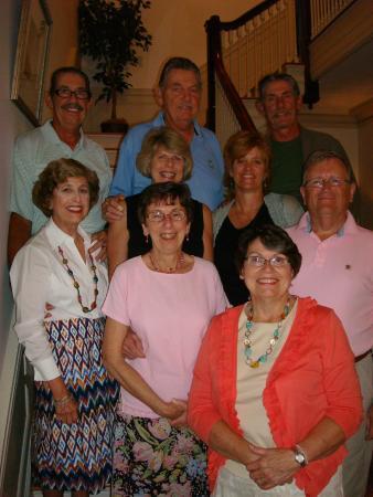 King George Inn: Happy family reunion
