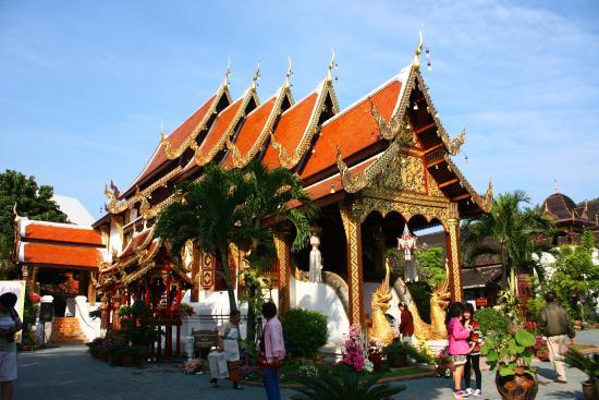 Wat Gate Khar Rnam : โบสถ์