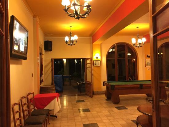 Hotel Gloria Coroico: Bar/Lounge