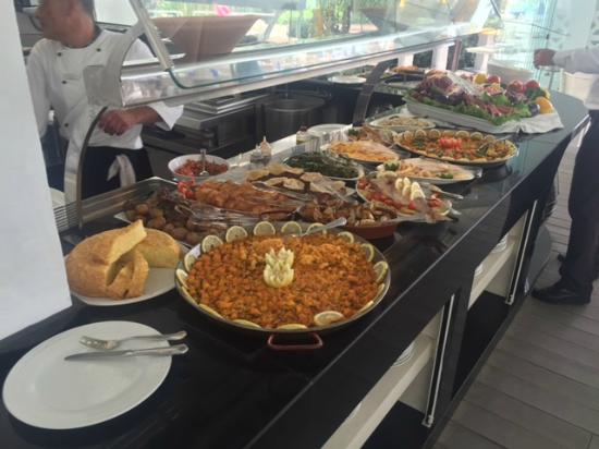 Paella fish and steaks picture of sea grill marbella - Sea grill marbella ...