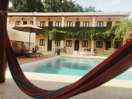 Hotel Casa Lucia: ALBERCA