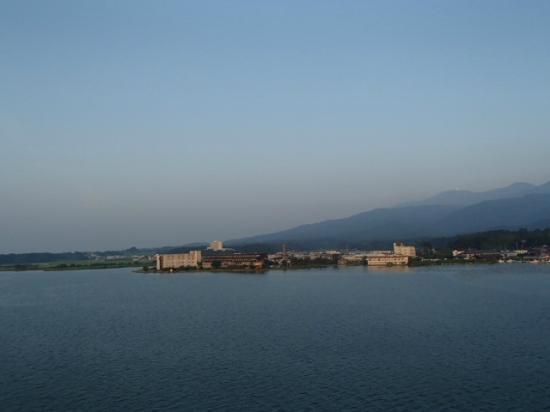 Yoshidaya: 朝の風景