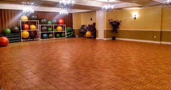 Mendon, Vermont: Indoor Class Area/Studio