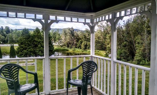 Mendon, Vermont: New Life Hiking Spa grounds