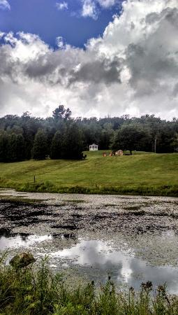 Mendon, VT: New Life Hiking Spa grounds