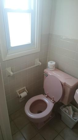 Conca D'or Motel: Toilet had very little leg room
