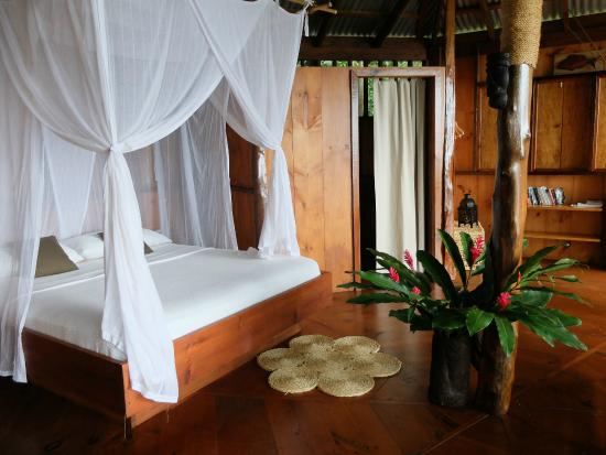 Manicou River: Comfortable beds with quality linen