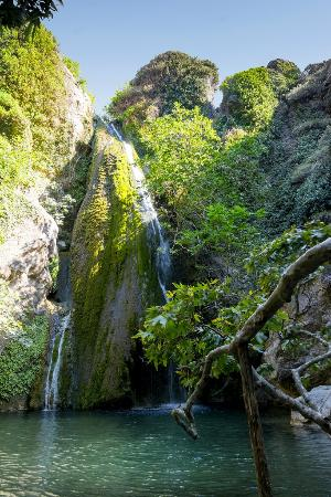 The Waterfall - Picture of Richtis Gorge, Sitia - TripAdvisor