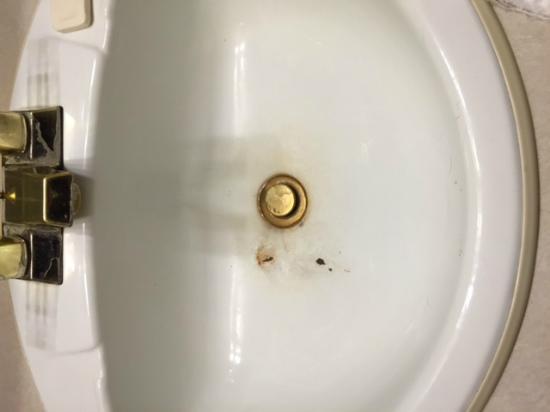 Astoria Hotel: rusted sink