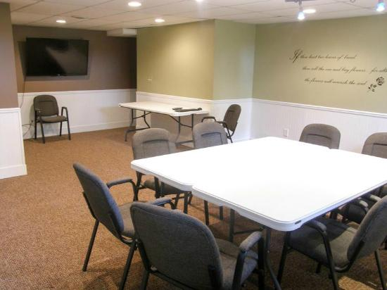 Lower Level Conference Room at the Stone House Inn
